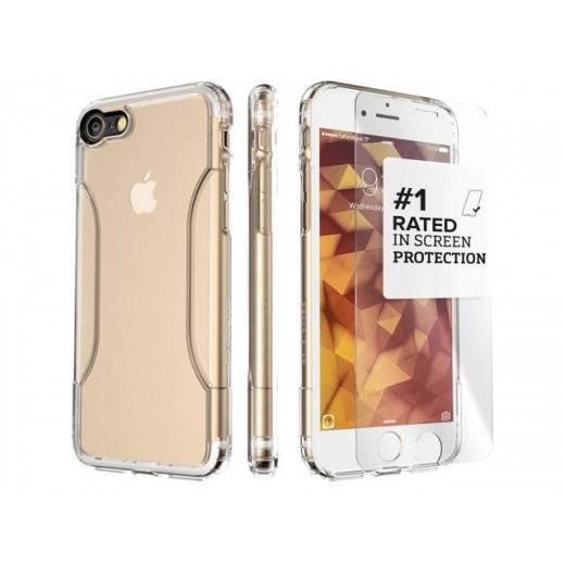 Clear Case & Tempered Glass Bundle
